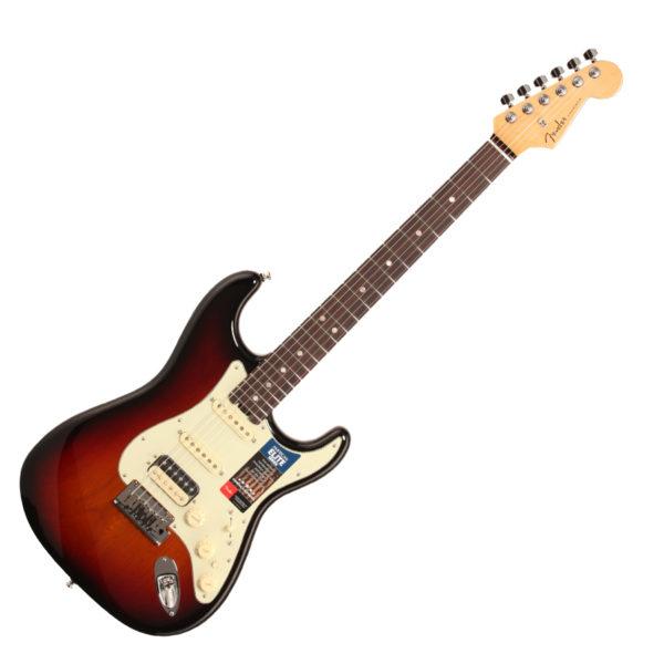 Fender American Elite Stratocaster, Rosewood – 3-Tone Sunburst img