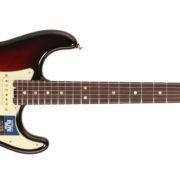 Fender American Elite Stratocaster, Rosewood – 3-Tone Sunburst side