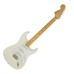 Fender Jimi Hendrix Stratocaster Olympic White Maple - A Strat to Sound Like Jimi img