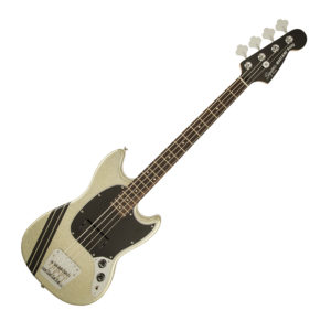 SQUIER MIKEY WAY MUSTANG BASS SLV