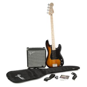 SQUIER PRECISION BASS PACK WITH RUMBLE 15 AMPLIFIER