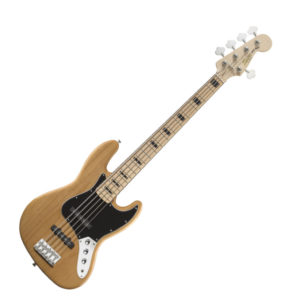 Squier Vintage Modified Jazz Bass V - Natural