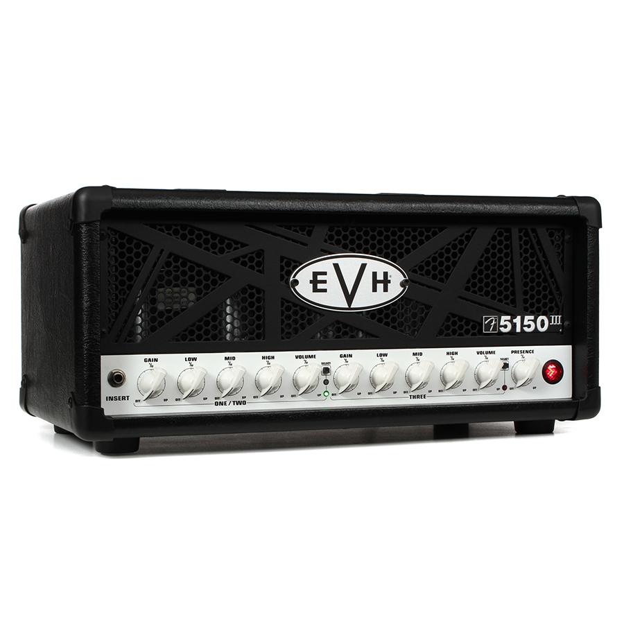 455099ae8f8 EVH 5150 III Mini 50W Tube Head – Black. Home   Amplifiers   Guitar ...