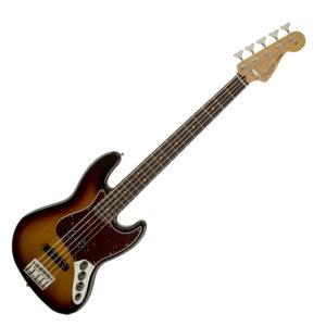 Fender Deluxe Active Jazz V 5-String Brown Sunburst