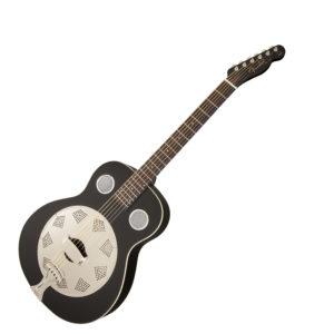Fender Top Hat Resonator - Black, Rosewood