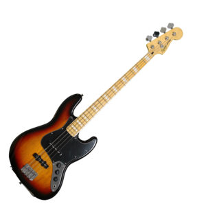 Squier '77 Vintage Modified Jazz Bass - 3 Tone Sunburst