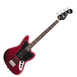 Squier Vintage Modified Jaguar Bass - Short Scale Candy Apple Red