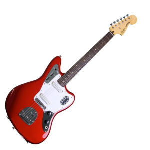 Squier Vintage Modified Jaguar - Candy Apple Red