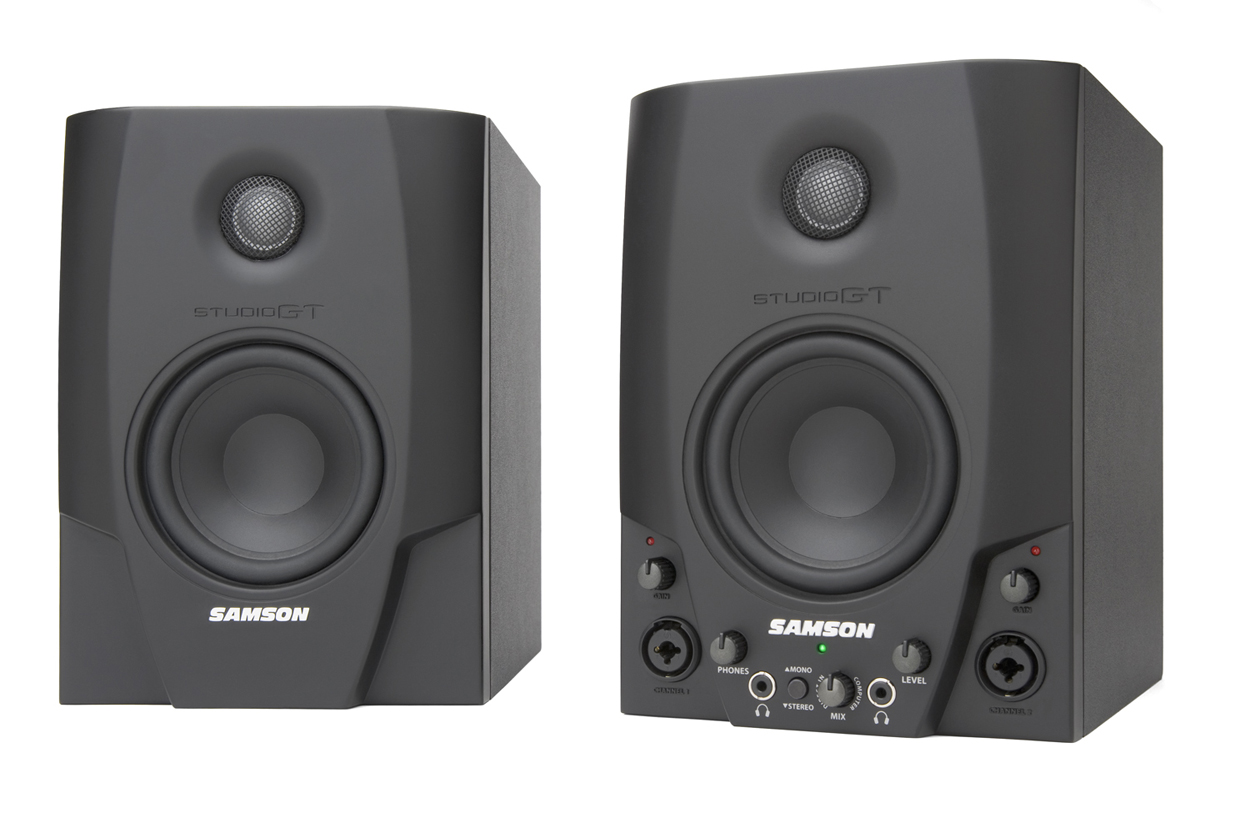 samson studio gt active studio monitors new zealand. Black Bedroom Furniture Sets. Home Design Ideas