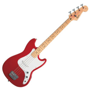 Squier Bronco Bass - Torino Red
