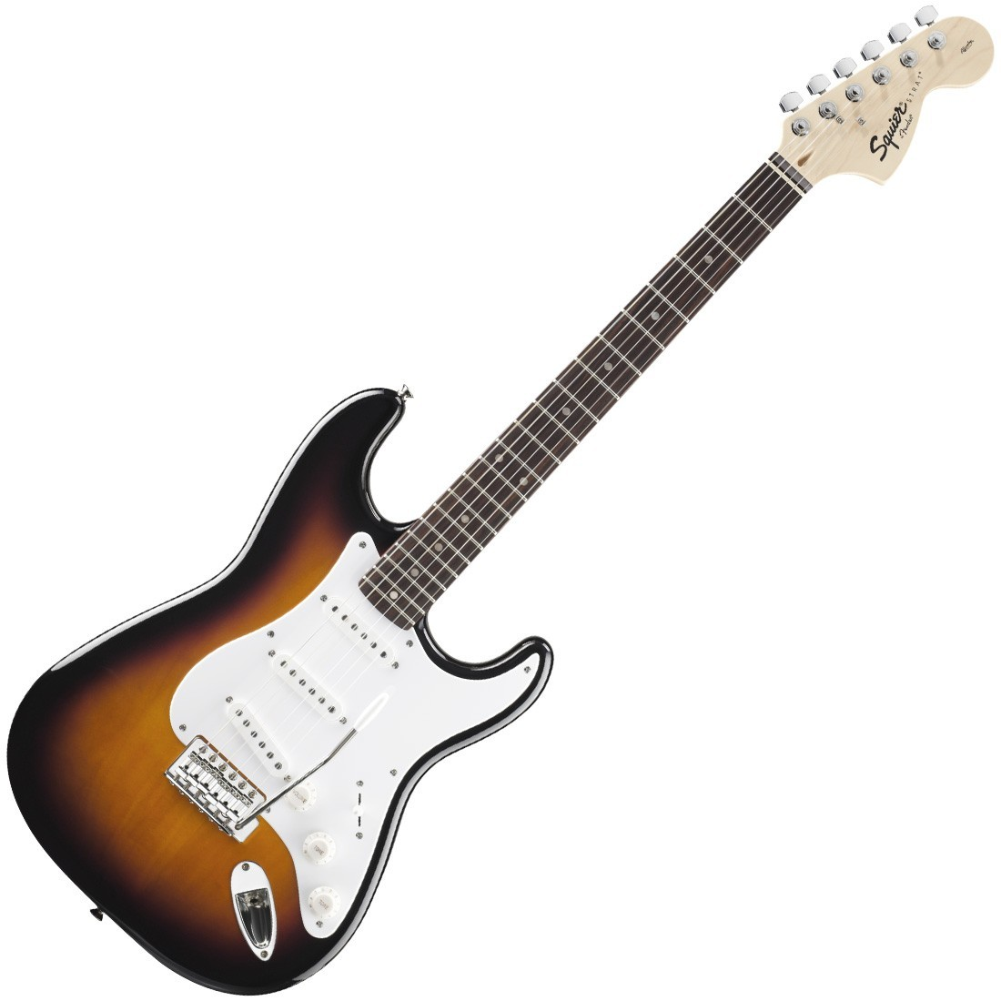 squier affinity series stratocaster 2 tone sunburst. Black Bedroom Furniture Sets. Home Design Ideas