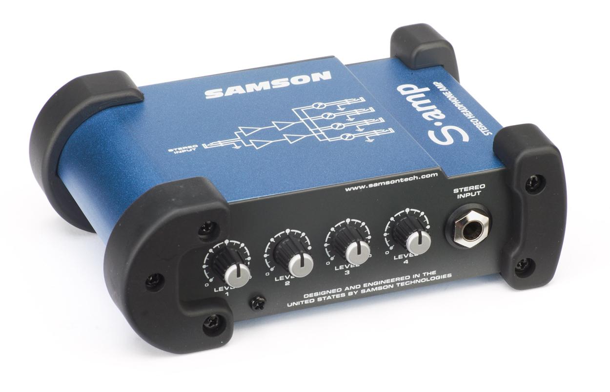 Samson S-amp Mini Stereo Headphone Amplifier - Music Machine NZ
