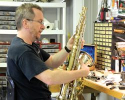 Brass and woodwind repairs