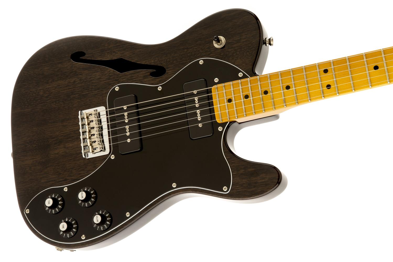 Fender Modern Player Telecaster Thinline : fender modern player telecaster thinline deluxe black transparent electric guitar music ~ Vivirlamusica.com Haus und Dekorationen