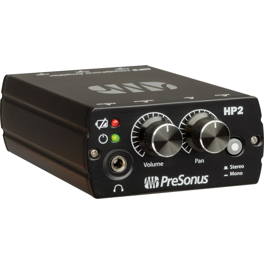 presonus hp2 stereo headphone amp music machine nz. Black Bedroom Furniture Sets. Home Design Ideas