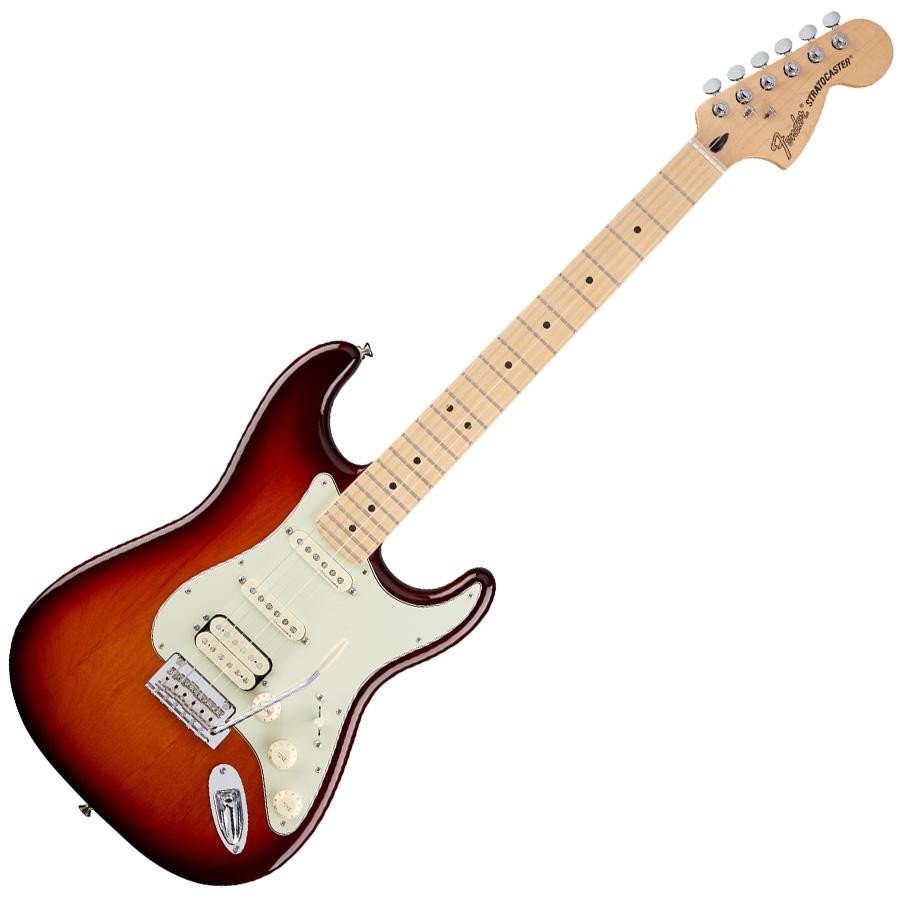 Fender Deluxe Stratocaster HSS Tobacco Sunburst MF