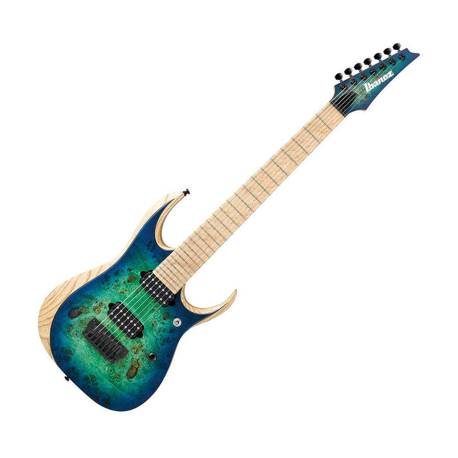 ibanez rgdix7mpb rgd iron label surreal blue burst music machine nz. Black Bedroom Furniture Sets. Home Design Ideas