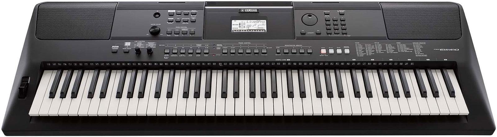 yamaha psr ew410 76 key portable keyboard music machine musical instruments nz guitars nz. Black Bedroom Furniture Sets. Home Design Ideas