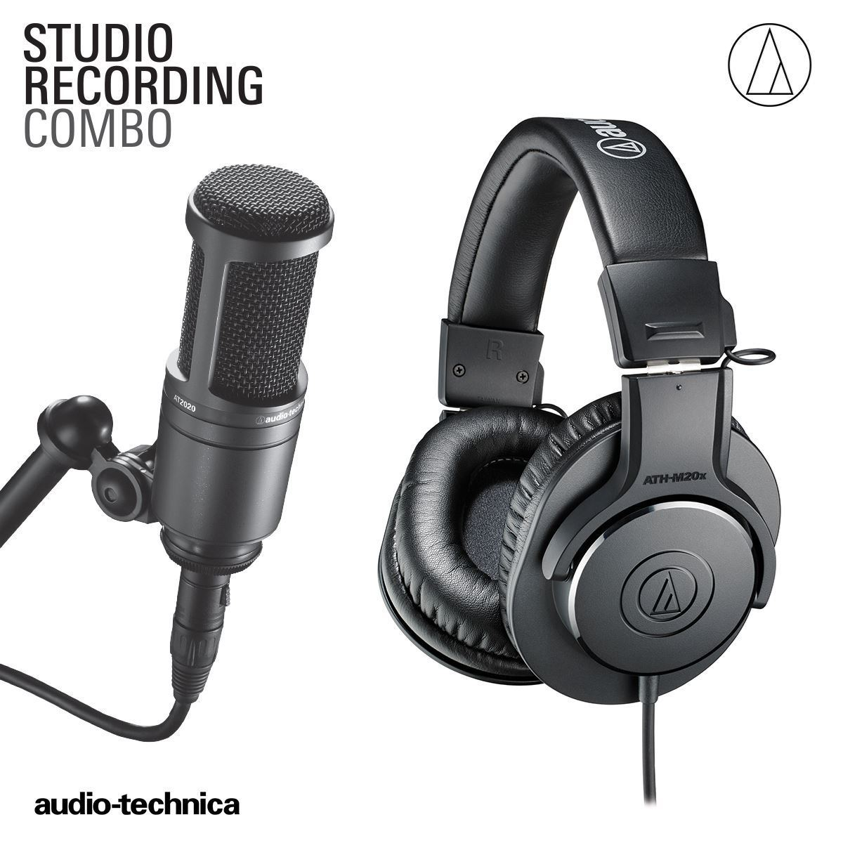 Audio Technica Studio Recording Combo Pack