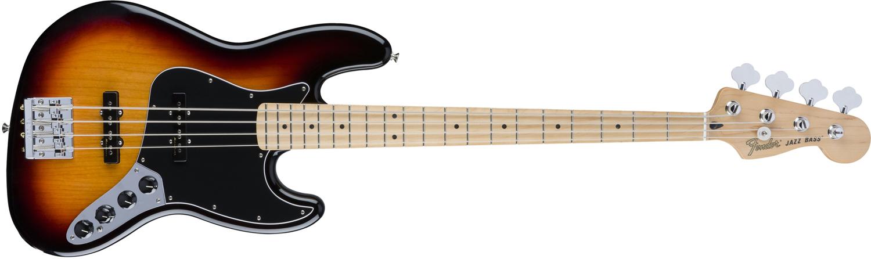 Fender Deluxe Active Jazz Bass 3 Tone Sunburst