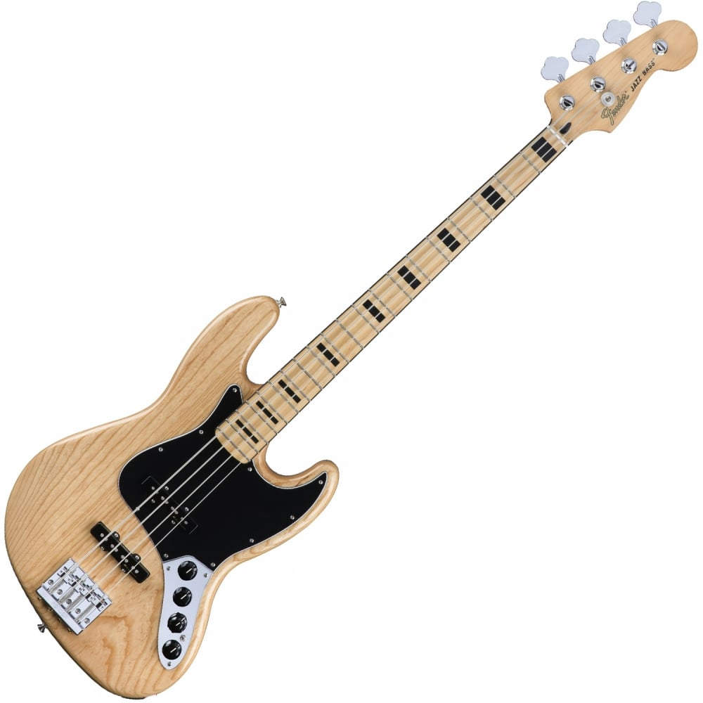 Fender Deluxe Active Jazz Bass Ash Natural