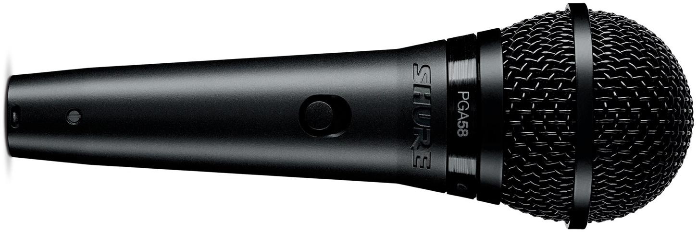 Shure Pga58 Xlr Dynamic Vocal Microphone With Xlr Cable