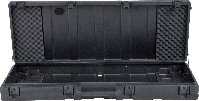 Skb 1skb R6020w Roto Molded 88 Note Keyboard Case Black