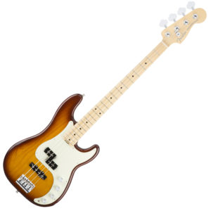 Fender American Elite Precision Bass Ash Tobacco Sunburst