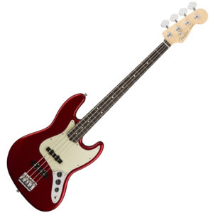 Fender American Professional Jazz Bass Candy Apple Red
