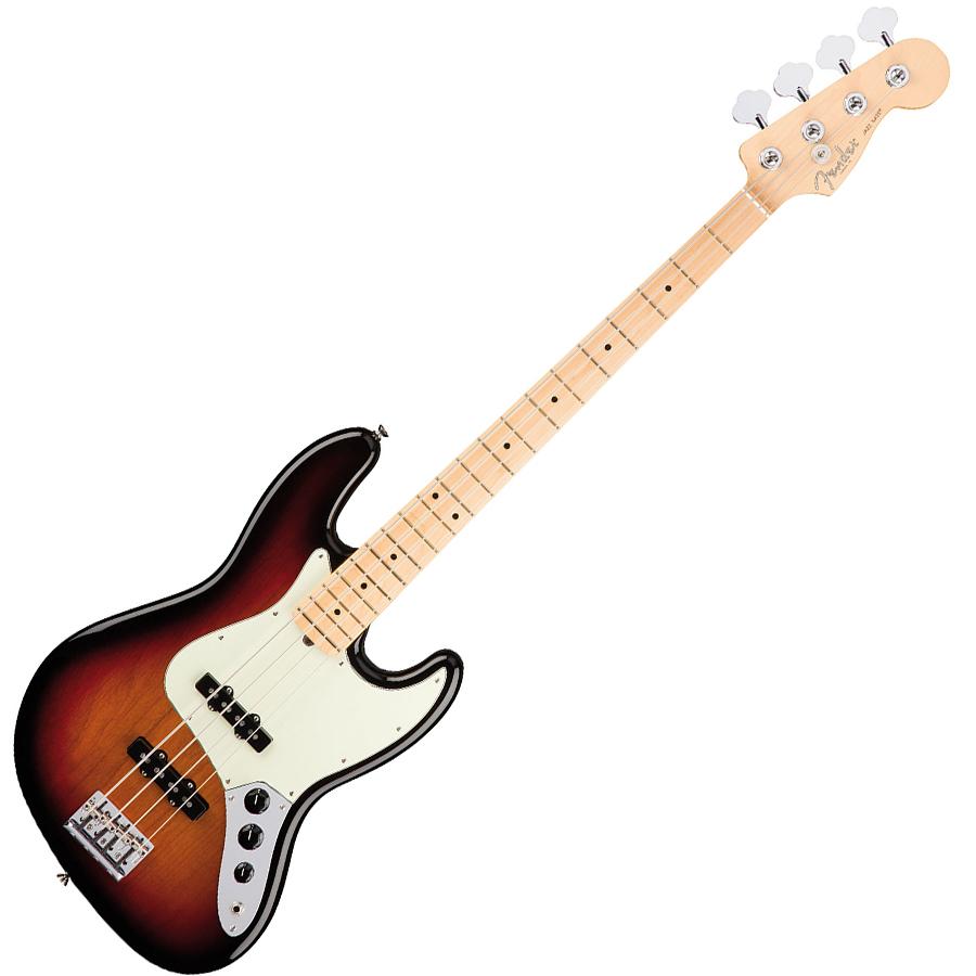 Fender American Professional Jazz 3 Tone Sunburst MF