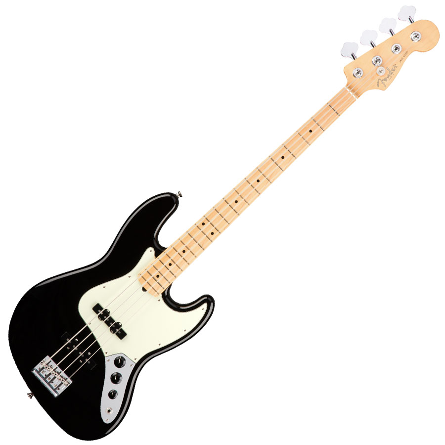 Fender American Professional Jazz Bass Black MF