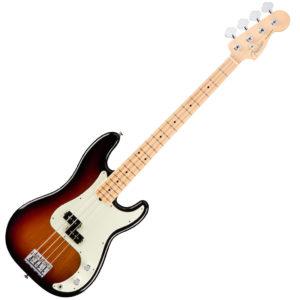 Fender American Professional Precision Bass 3 Tone Sunburst MF