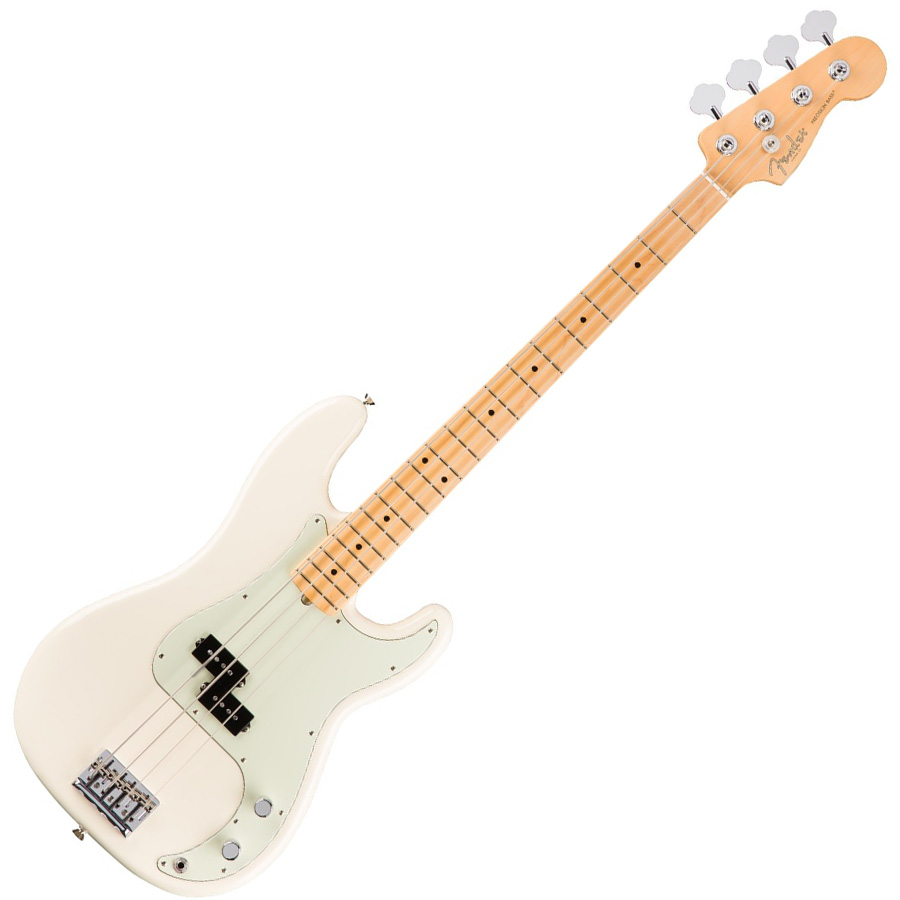 Fender Standard Precision Bass Arctic White MF