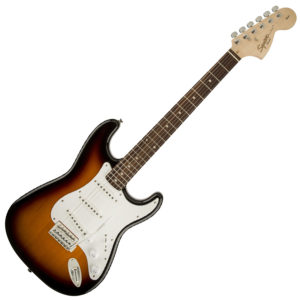 SQUIER AFFINITY STRAT BROWN SUNBURST