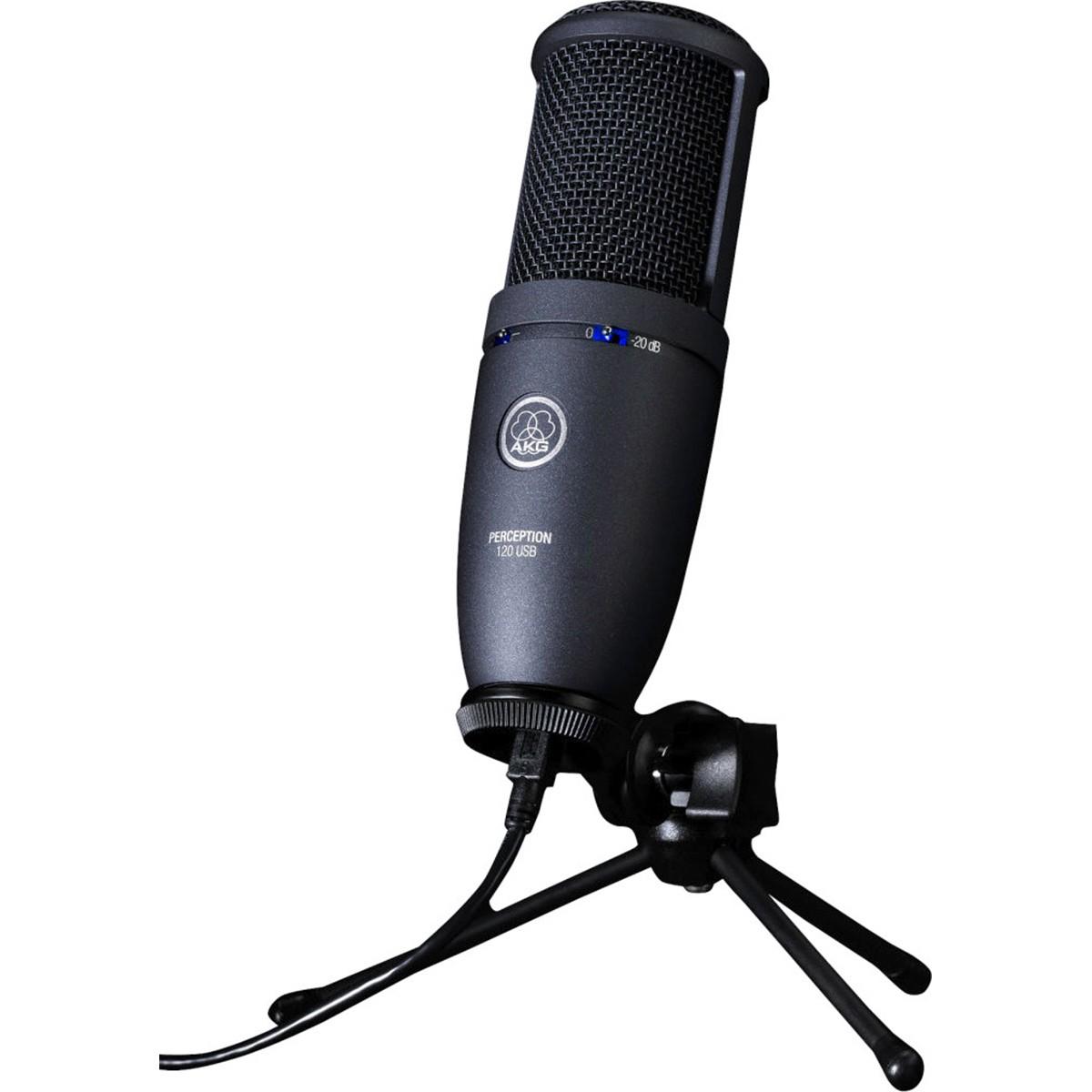 akg perception 120 usb condenser microphone music machine musical instruments nz guitars nz. Black Bedroom Furniture Sets. Home Design Ideas