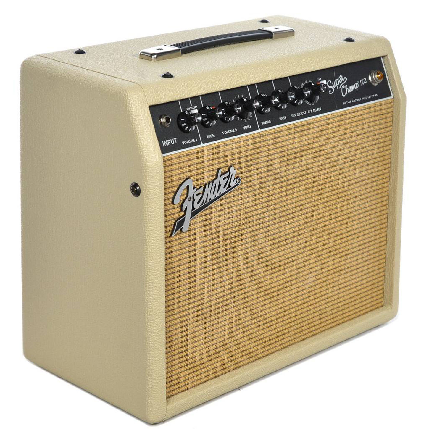 fender fsr super champ x2 combo blonde w wheat grille cloth music machine musical. Black Bedroom Furniture Sets. Home Design Ideas