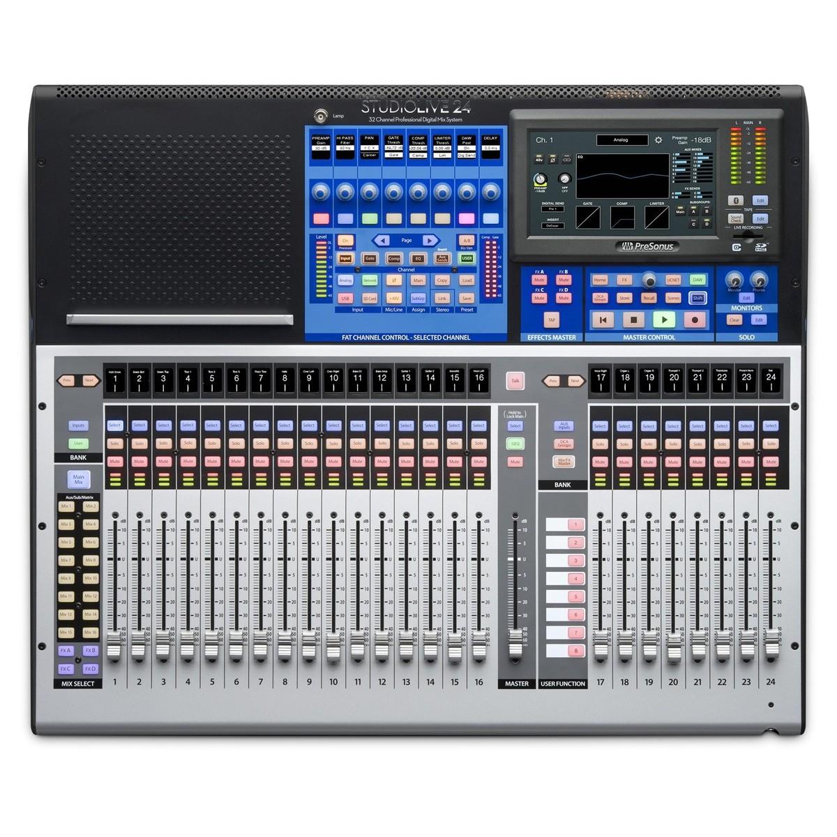 Digital Mixer Recorder : presonus studiolive 24 series iii digital mixer 24 channel digital console recorder music ~ Vivirlamusica.com Haus und Dekorationen