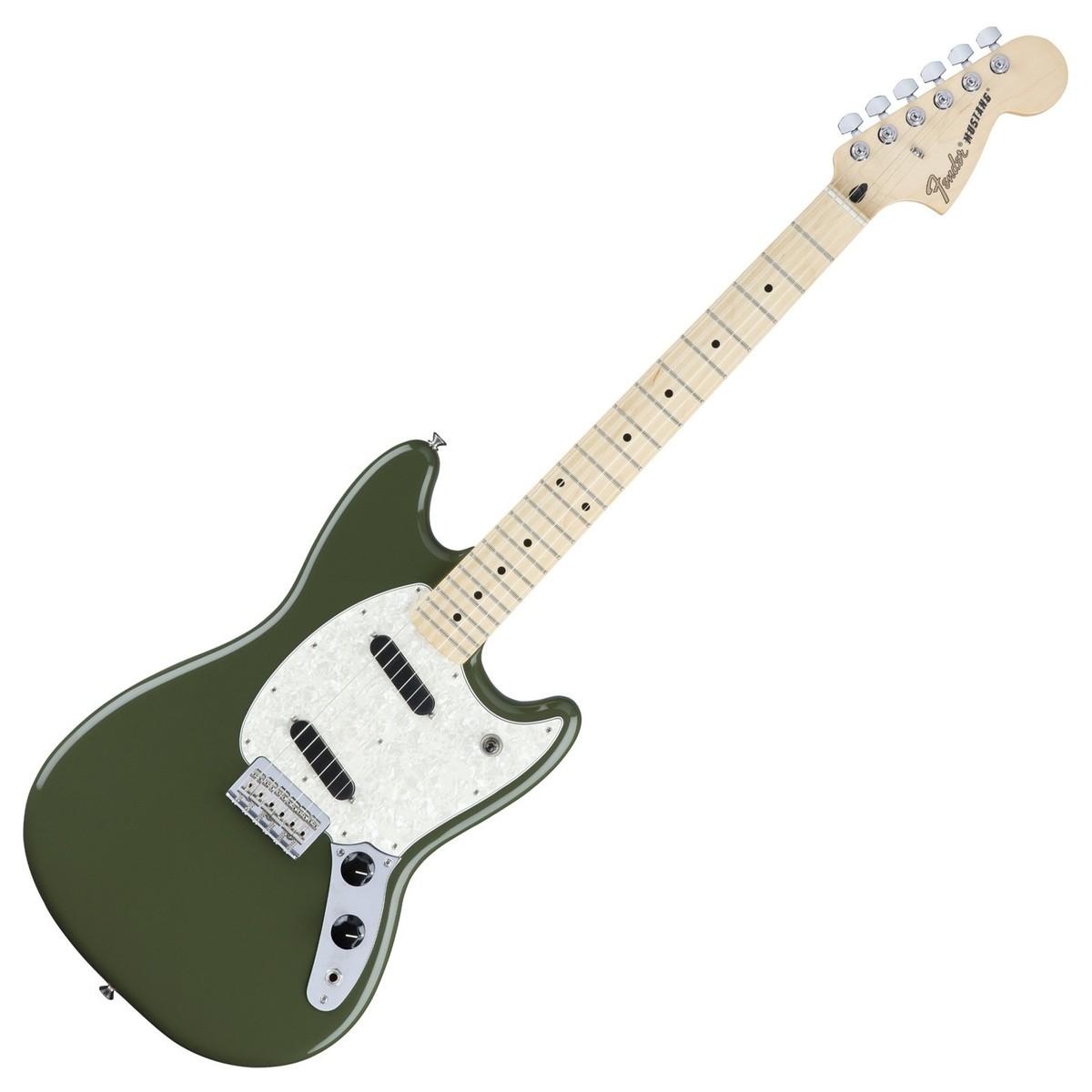 Fender Mustang Olive Green