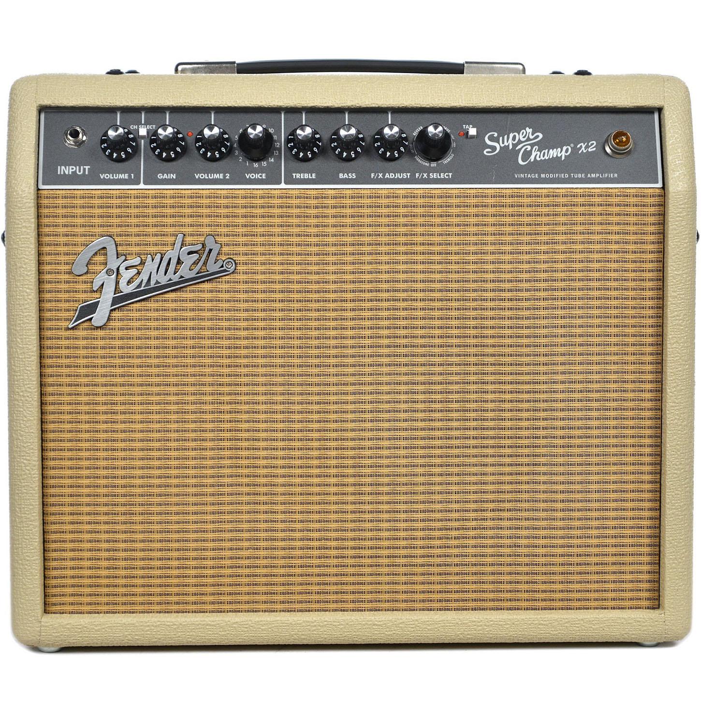 Fender FSR Super Champ X2 Combo - Blonde w/ Wheat Grille Cloth - Music  Machine - Musical Instruments NZ - Guitars NZ