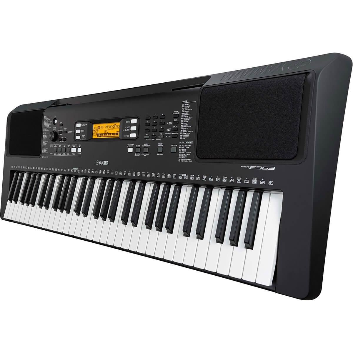 yamaha psr e363 61 key portable digital keyboard music. Black Bedroom Furniture Sets. Home Design Ideas