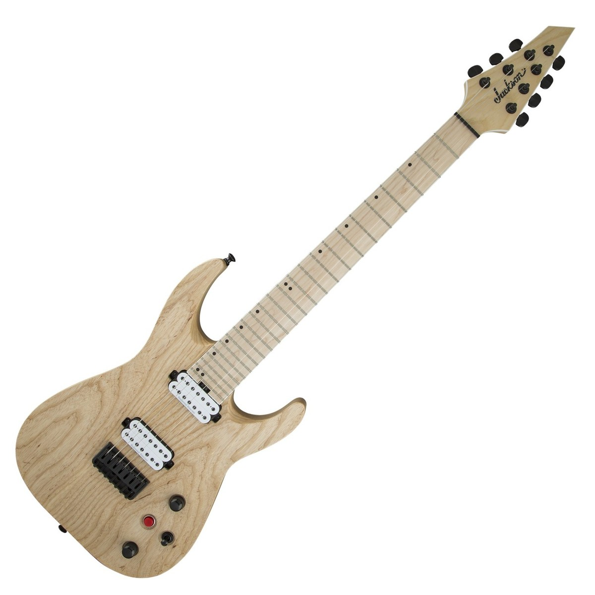 jackson dka7m pro series dinky 7 string electric guitar natural music machine musical. Black Bedroom Furniture Sets. Home Design Ideas