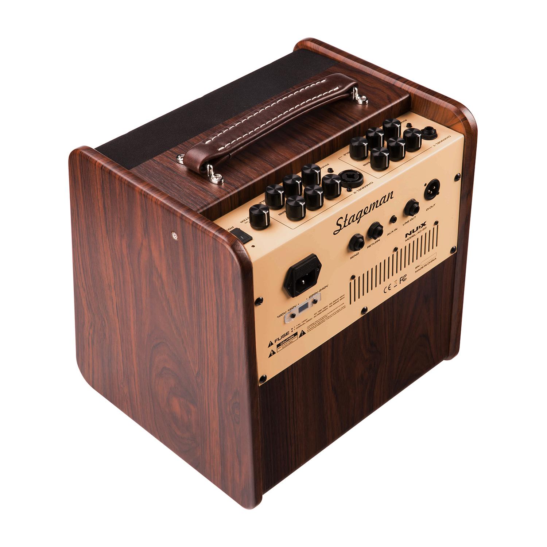 nux stageman ac 50 acoustic guitar amplifier w digital fx loop function music machine. Black Bedroom Furniture Sets. Home Design Ideas