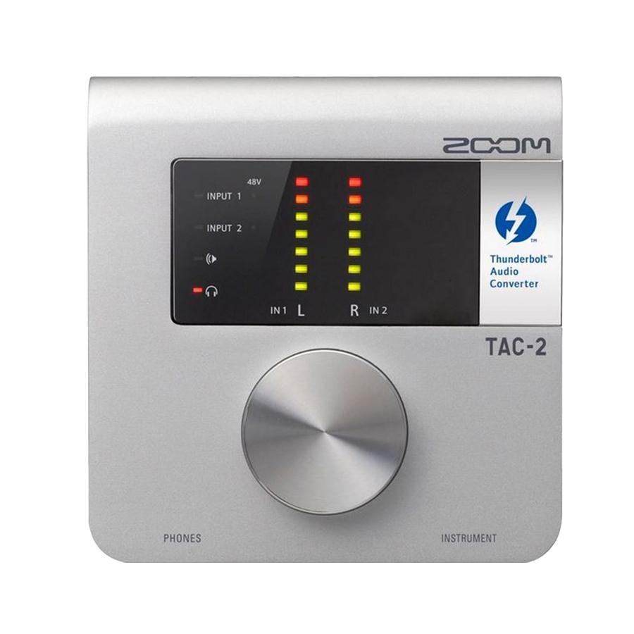 zoom tac 2 2x2 thunderbolt audio interface music machine musical instruments nz guitars nz. Black Bedroom Furniture Sets. Home Design Ideas