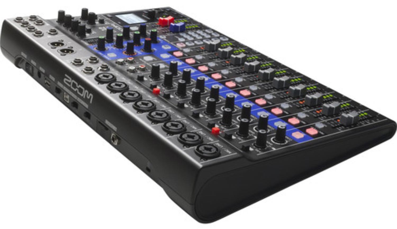 Digital Mixer Recorder : zoom livetrak l 12 12 channel digital mixer 12 track recorder and audio interface music ~ Vivirlamusica.com Haus und Dekorationen