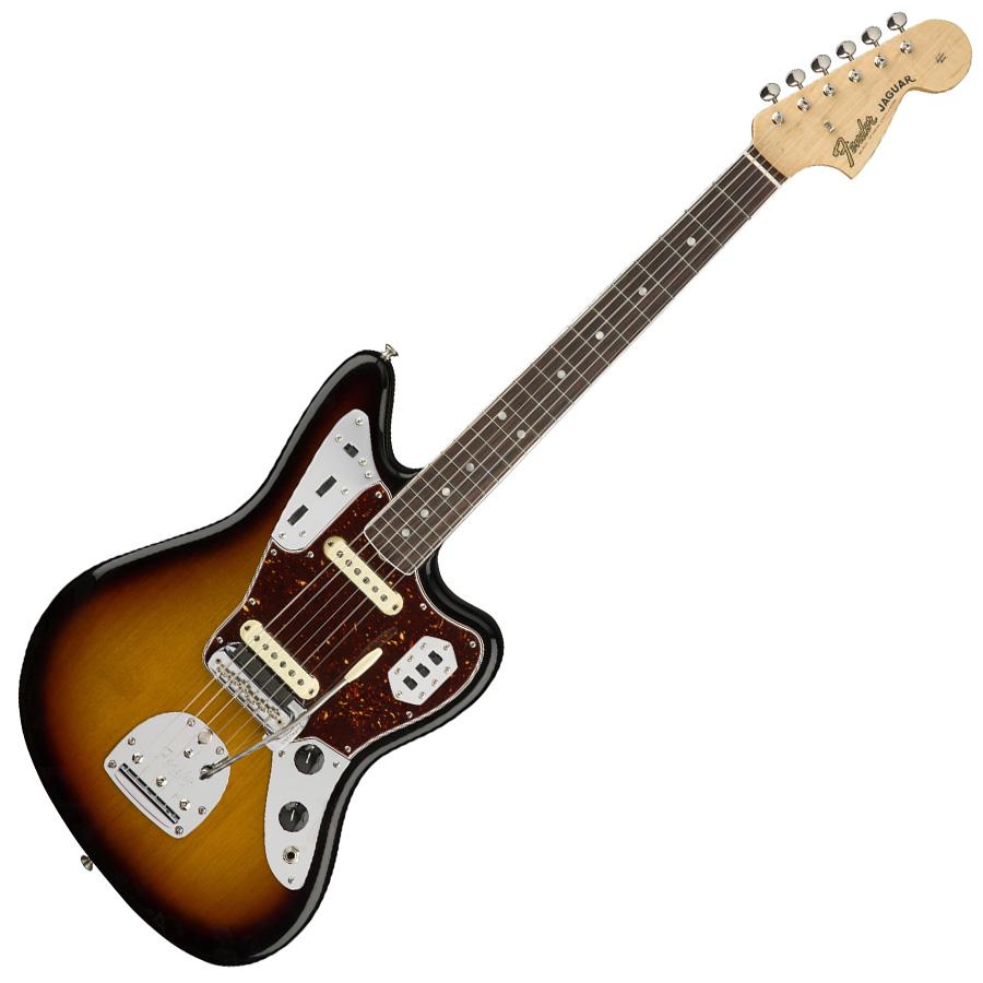 Fender American Original '60s Jaguar 3-Colour Sunburst