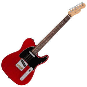 Telecaster Crimson Transparent