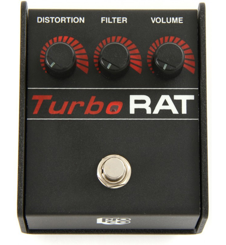 pro co turbo rat distortion fuzz overdrive pedal music machine musical instruments nz. Black Bedroom Furniture Sets. Home Design Ideas