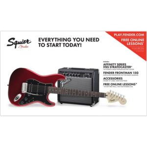 Squier Affinity Strat Pack