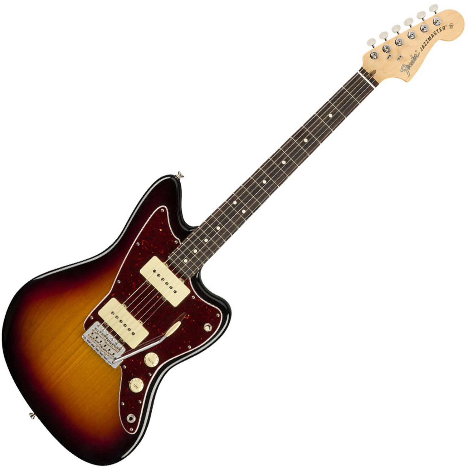 fender american performer jazzmaster 3 tone sunburst rosewood fretboard music machine. Black Bedroom Furniture Sets. Home Design Ideas