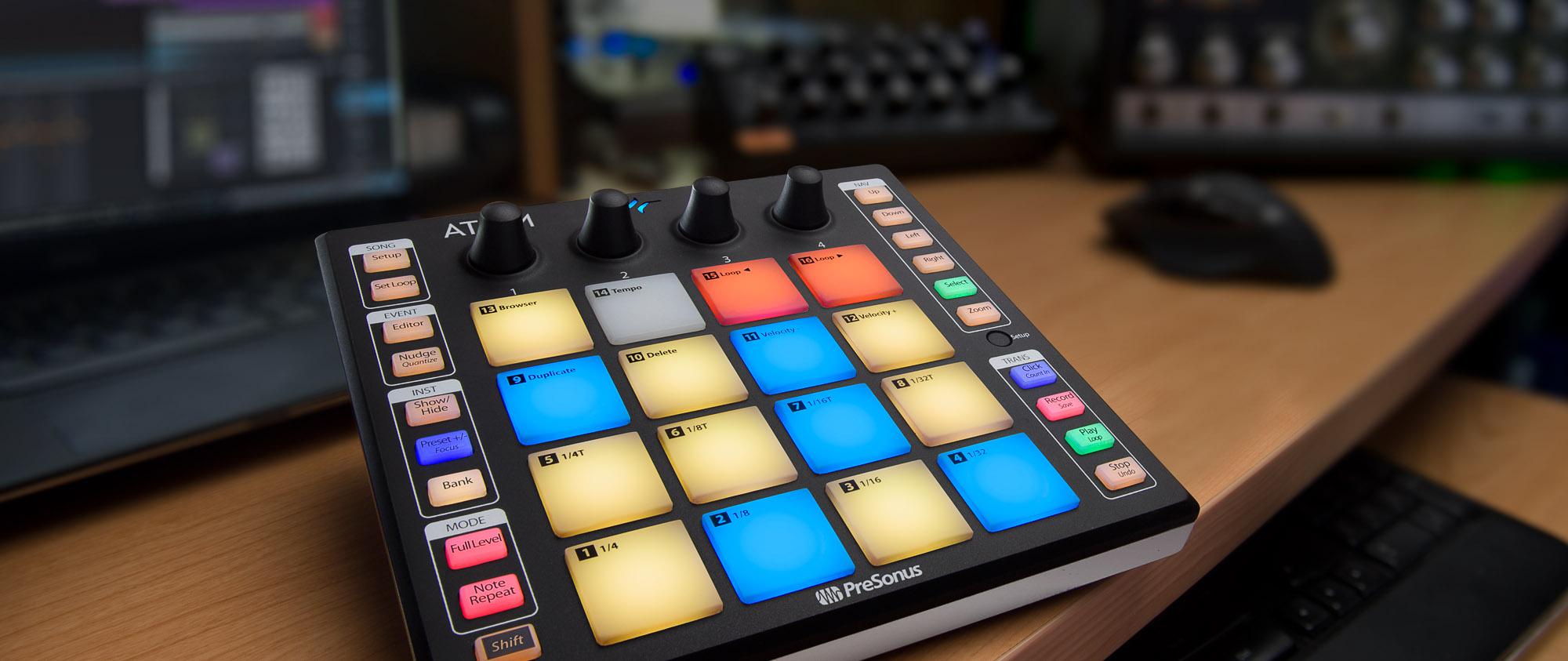 presonus atom producer lab complete production kit music machine musical instruments nz. Black Bedroom Furniture Sets. Home Design Ideas